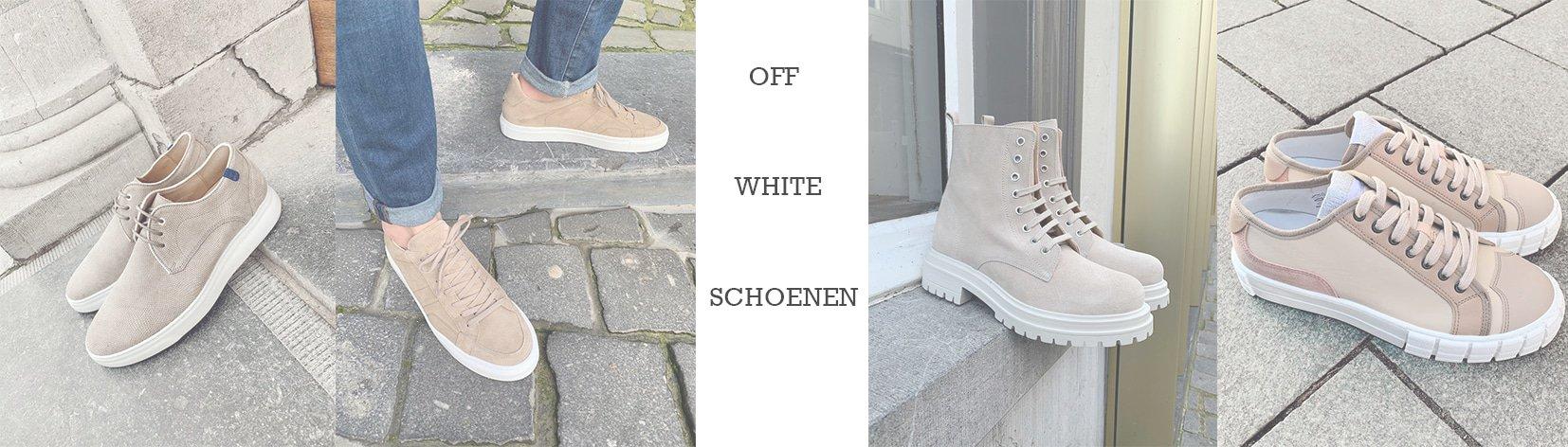 Trend-alert: off-white modellen voor dames en heren