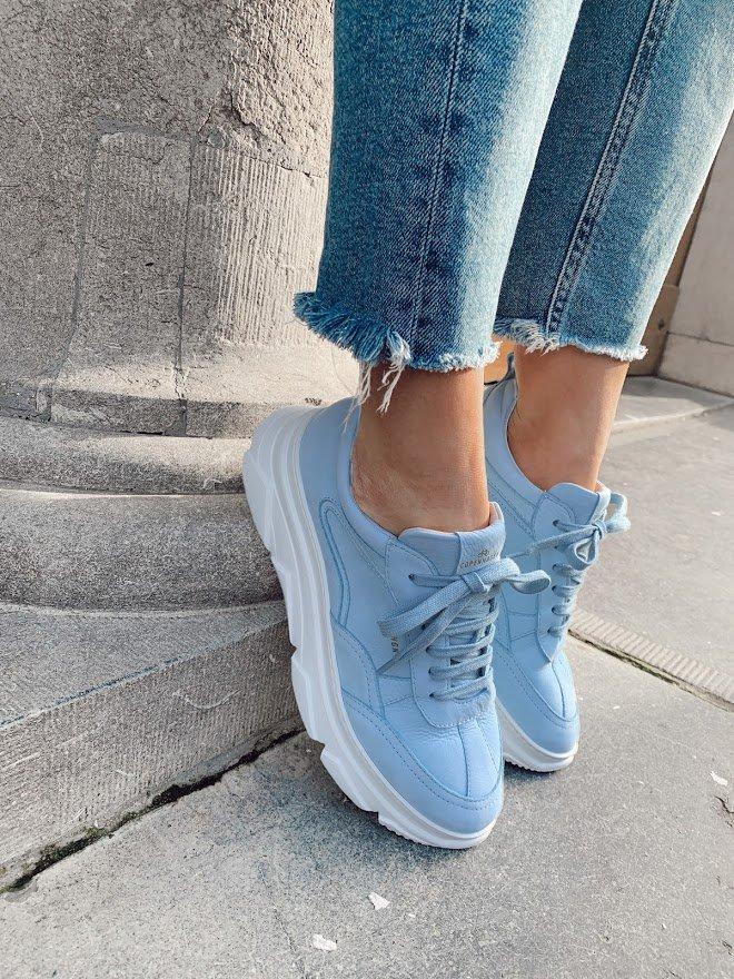 Pastel sneakers voor dames