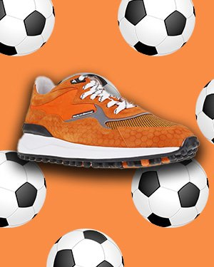 Oranjegekte: met deze schoenen en sokken bent u klaar voor het EK!