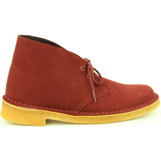 Clarks Desert Boot Wine